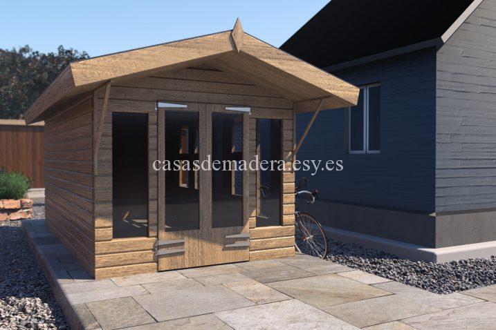 shed05 scene 02 717x478 - Casa de madera modelo noah de 22m2