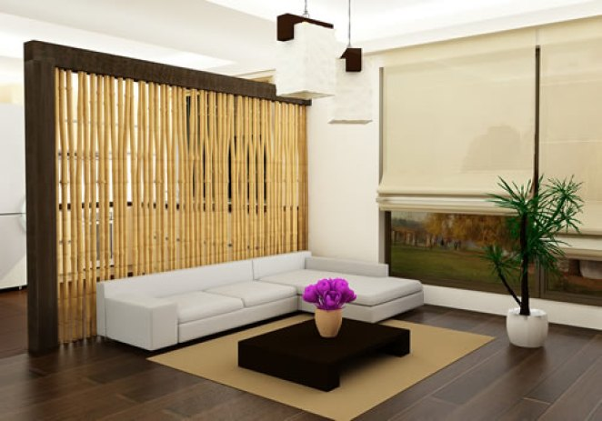 Eco-living-room-interior-with-bamboo