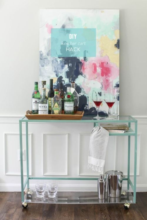 bar-cart-ikea-hack