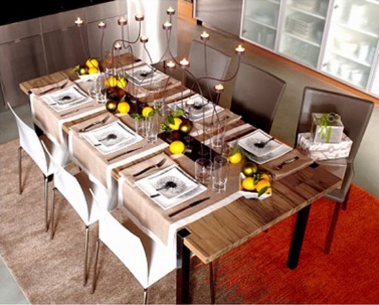Luxury-Exotic-Wood-Dining-Table-with-Modern-Chairs-Touches
