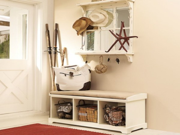 Cool-Entryway-Storage-Bench