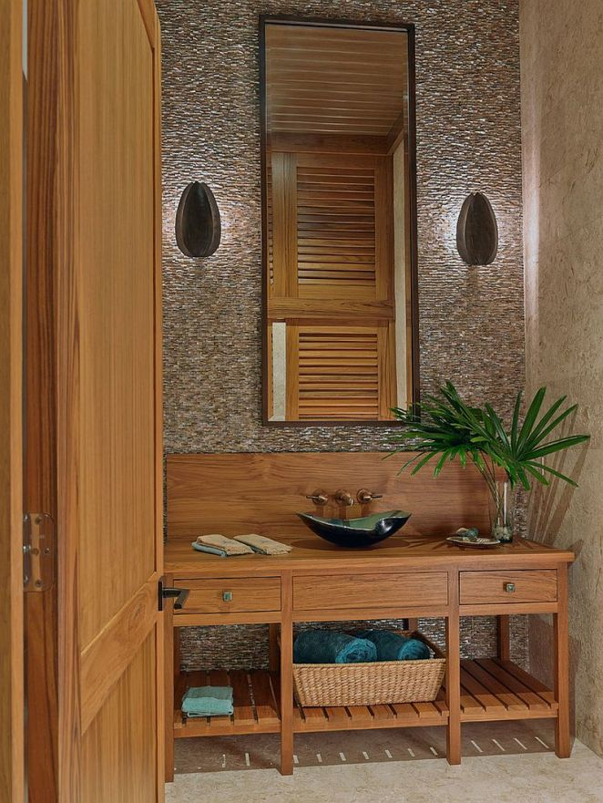 Wooden-vanity-adds-a-relaxing-vibe-to-the-powder-room