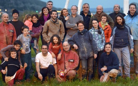 SPELEOLOGIE CAUMONT 2015