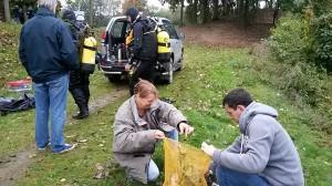 Nettoyage Etangs de Cergy 2014-10-12