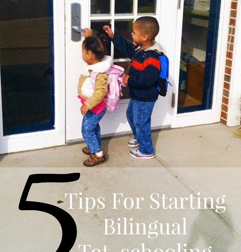 5 Tips for Starting Bilingual TotSchooling: Spanish Sabado #5