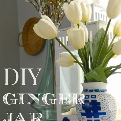 Make your own DIY Ginger Jar