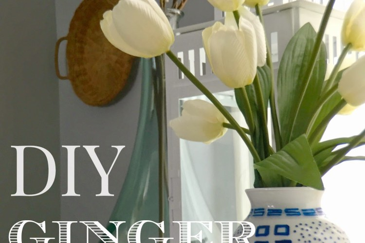Make your own DIY Ginger Jar
