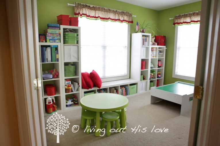 Home School Furniture messy living room Living Out His Love