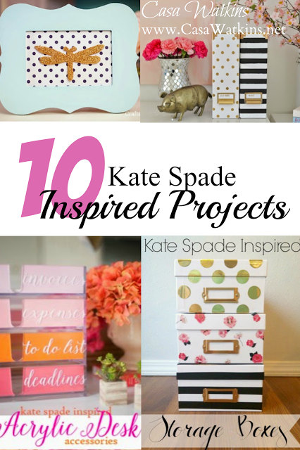 10 New Kate Spade Inspired Projects - Casa Watkins Living