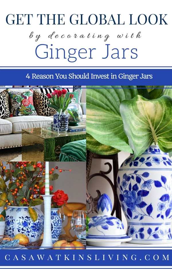 Great inspiration for using ginger jars! Haven't thought of doing the last tip.