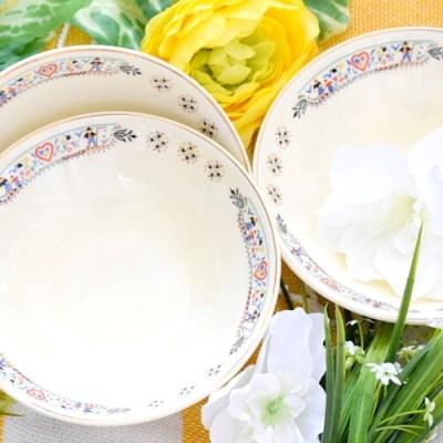 Thrifted Treasures: Spanish Tapas Bowls