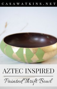DIY-Aztec-Inspired-Painted-Thrift-Bowl