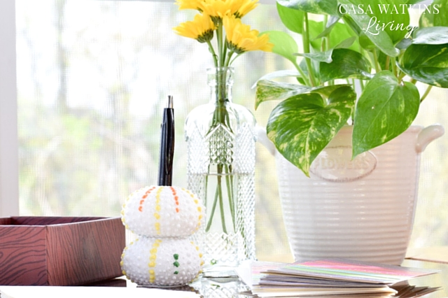 How-To-Make-A-Sea-Urchin-Pen-Holder-For-Mothers-Day