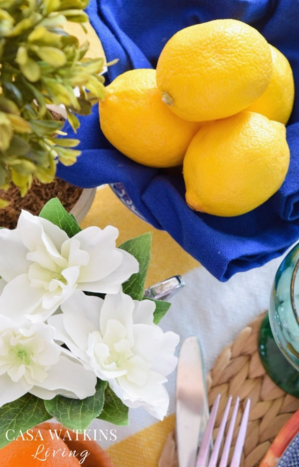 How to incorporate fruit into your tablescape