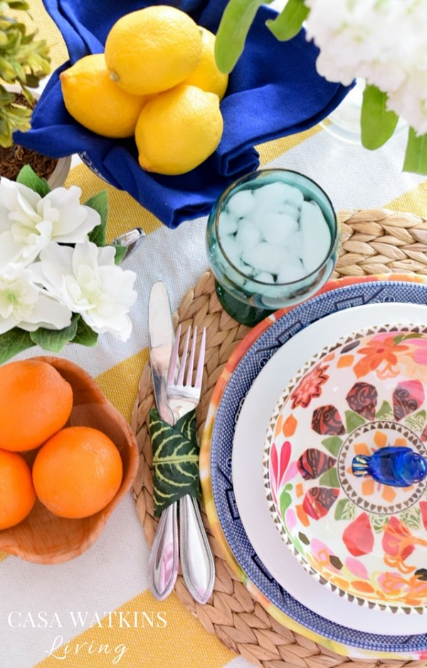 How to style a spring tablescape like Eddie Ross