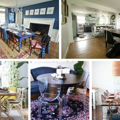 Key Eclectic Style Dining Room Pieces You'll Want ASAP