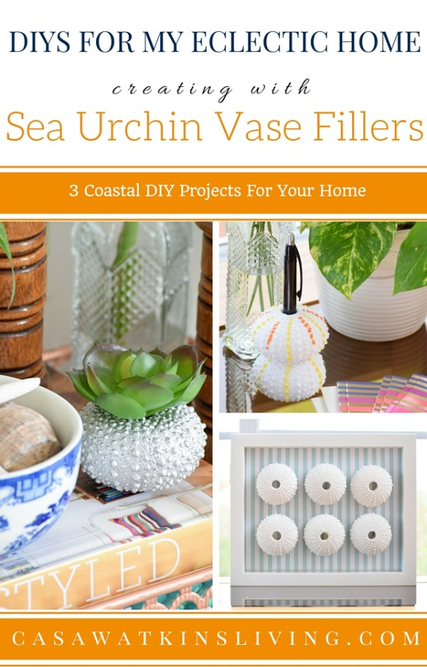 3 DIY projects to create with sea urchin vase filler