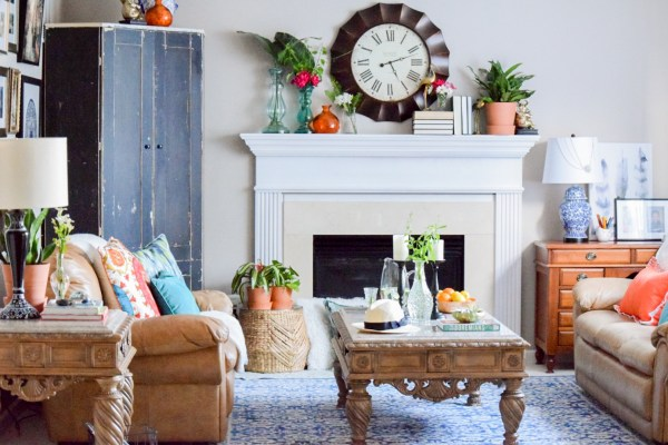 Summer refresh with global eclectic style