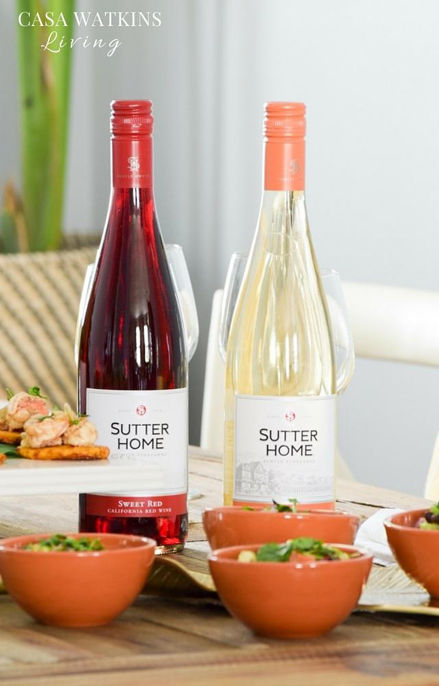 Great wine pairings for summer wine tasting