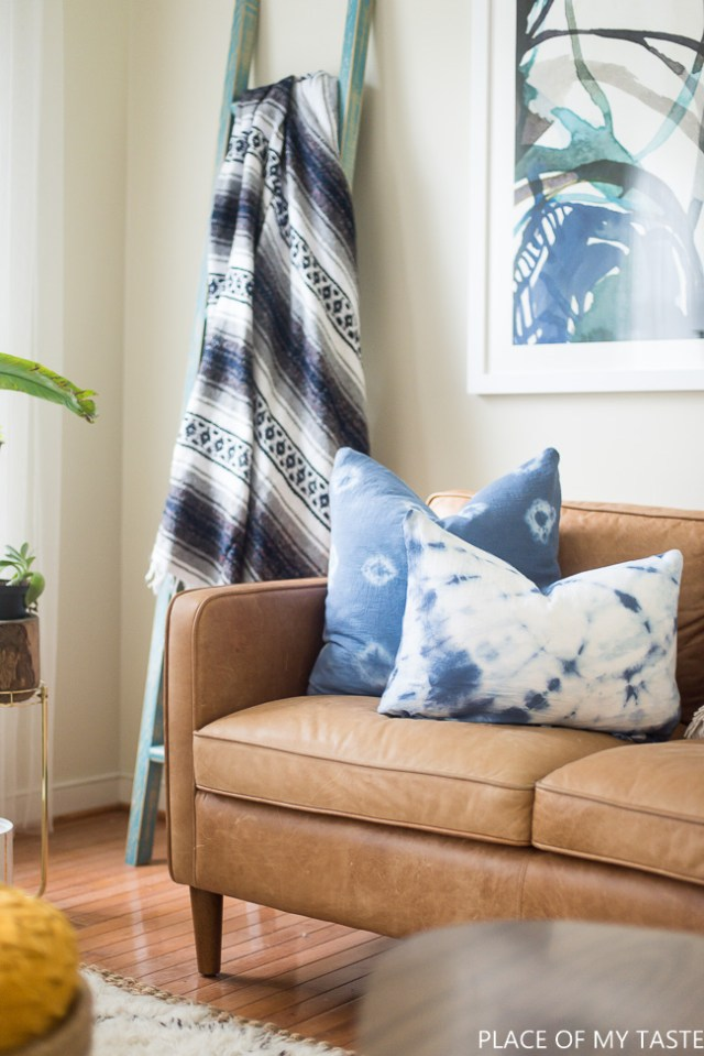 How to make shibori pillows by Place Of My Taste