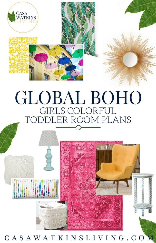 Colorful global boho girls makeover