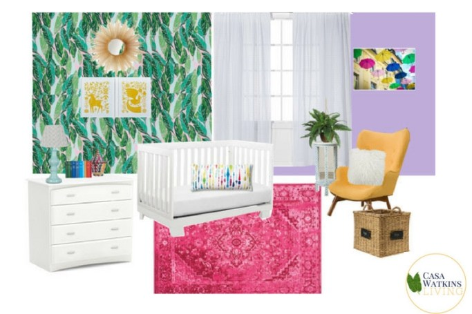 boho global room makeover