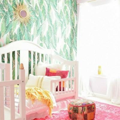 Colorful Global Boho Girl's Room Reveal