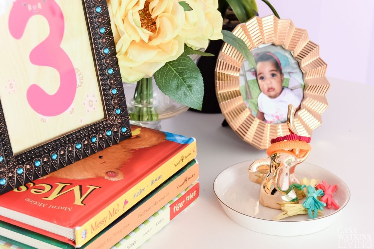 Repurpose ring holders into hair accessory holder for kids