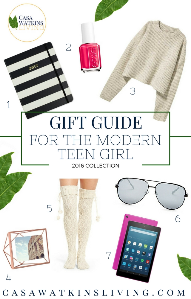 Gift guide for teen girls! Definitely a must!