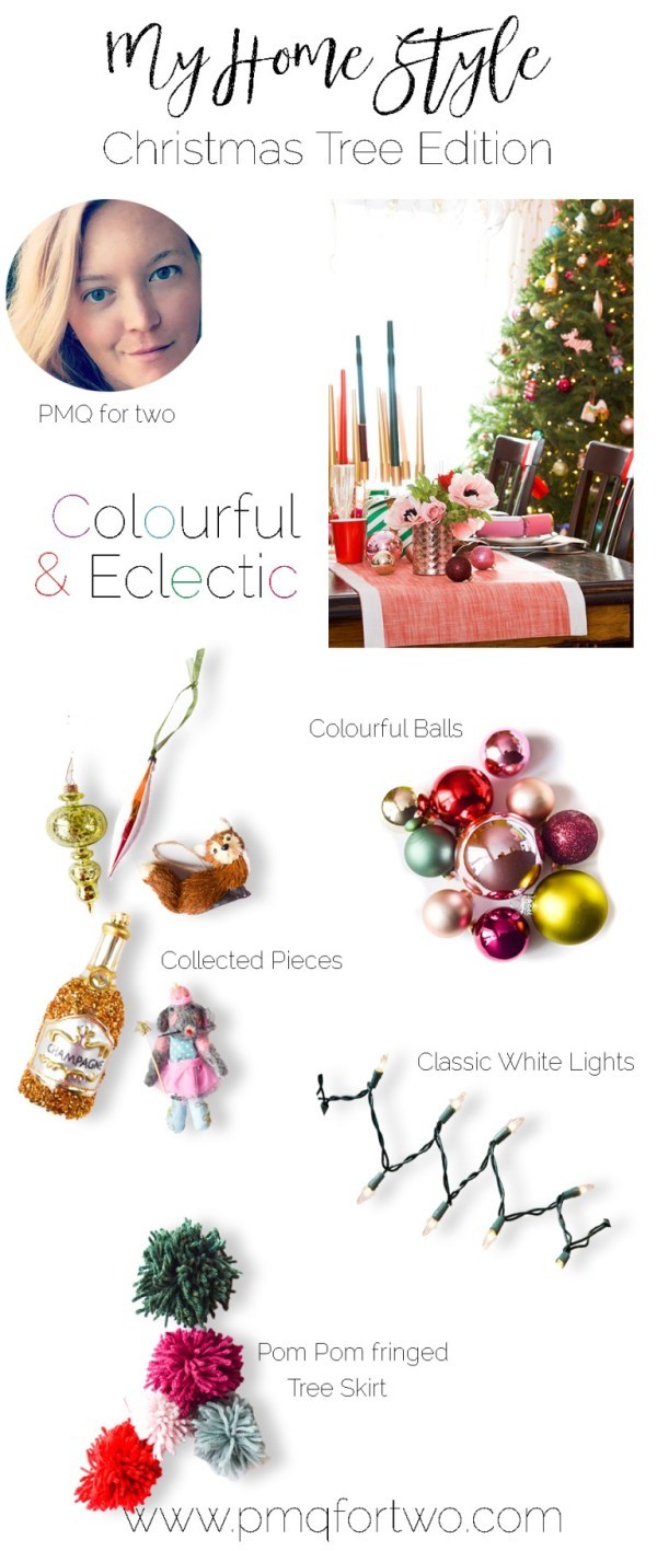 Colorful eclectic tree by PMQ for Two