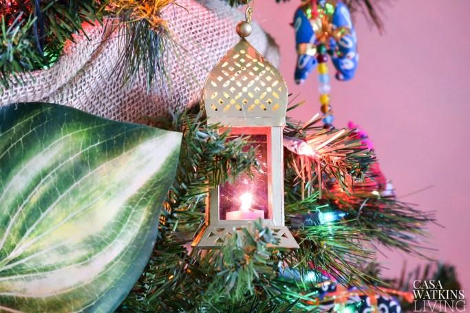 moroccan lantern ornaments!