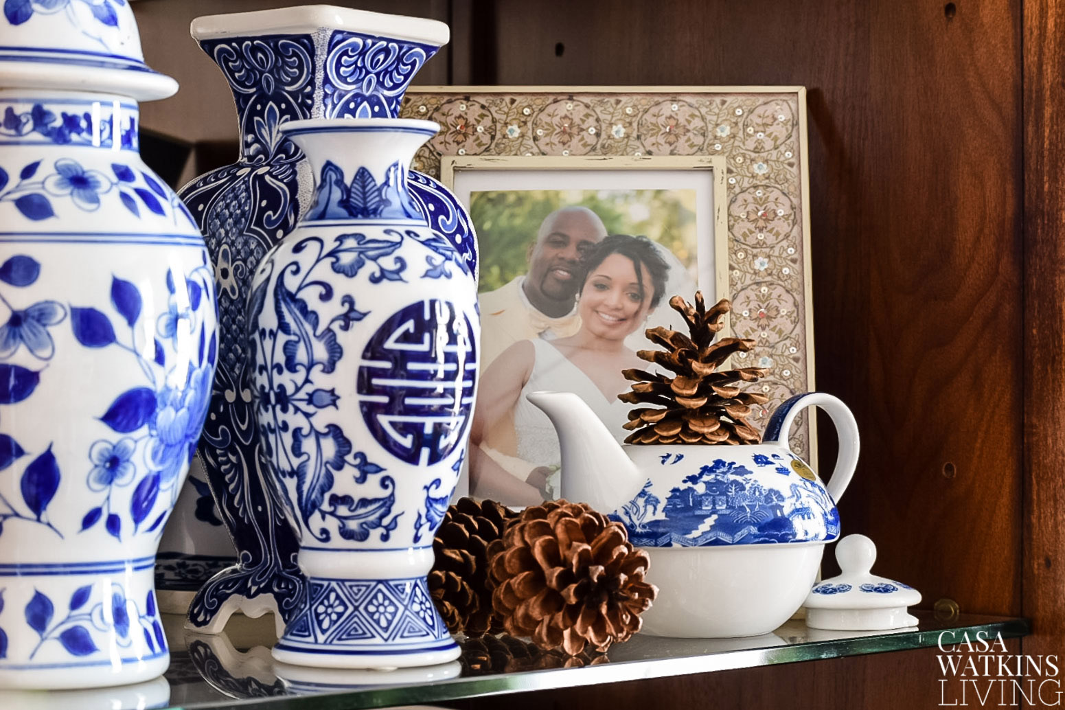 chinoiserie decor for Christmas