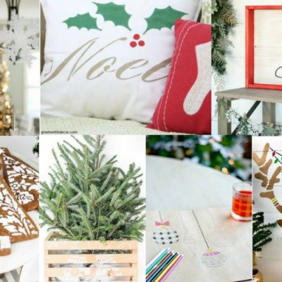 10 Fun and Festive Stenciled Holiday Projects