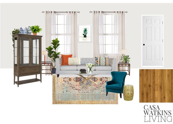 New Year New Room Refresh Challenge: The Living Room