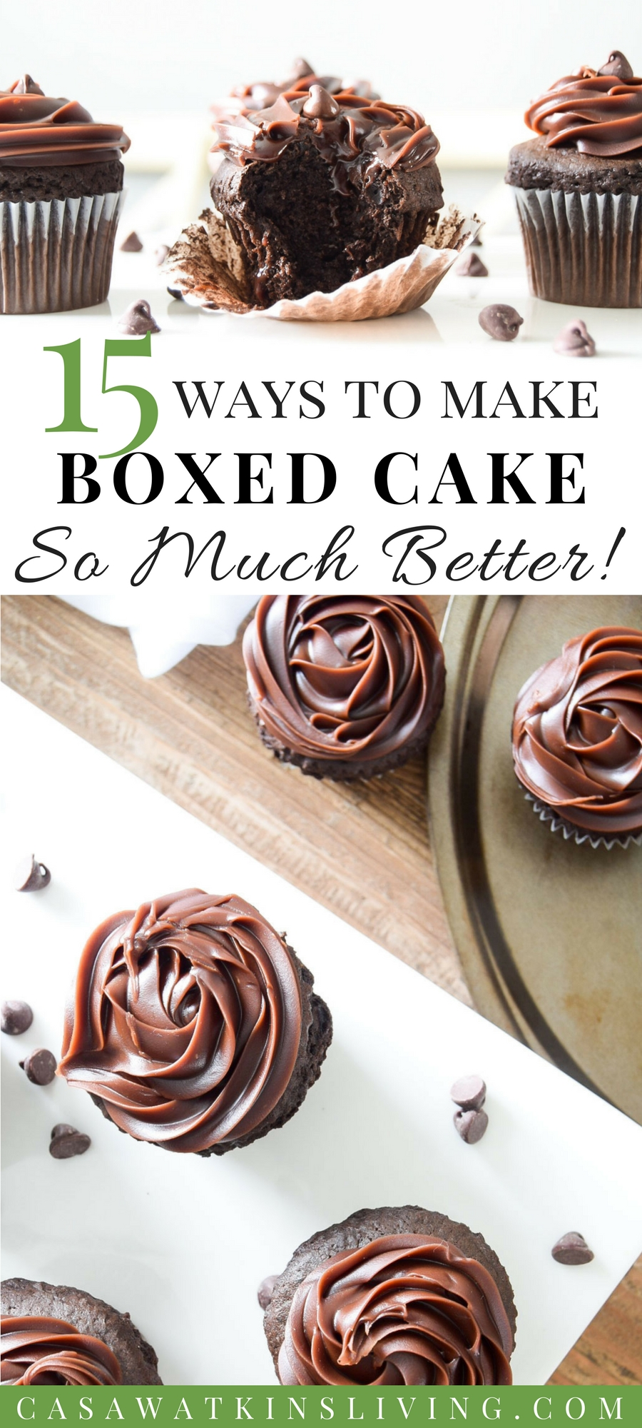 15 ways to make cake mix baking better and taste more homemade!