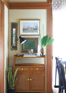 British Colonial Inspired Vignette