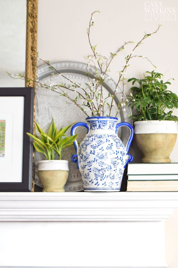 global style spring mantel