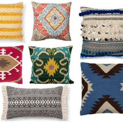 15 Global Style Pillows From Target