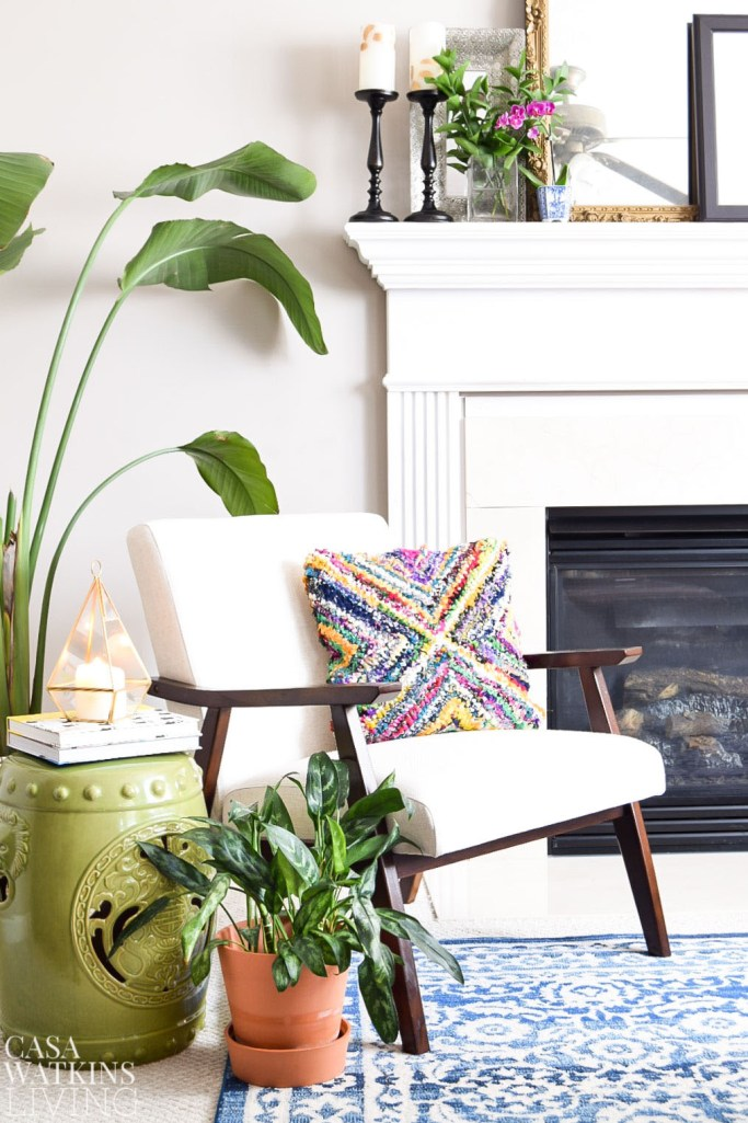 decorating with natural elements for spring