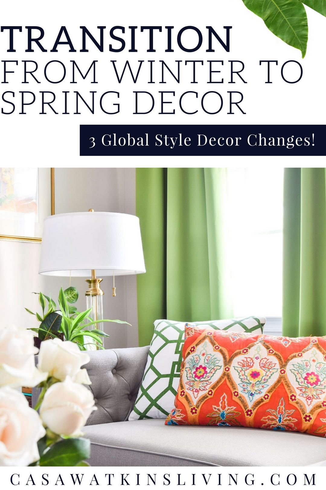 3 quick ways to transition decor from spring to winter with global style
