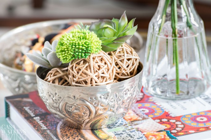 easy diy spring decor with succulents