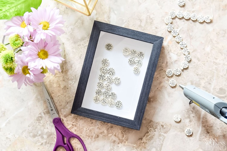 diy bead art with global style