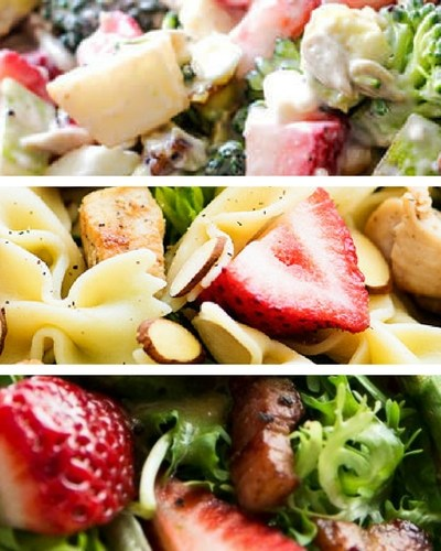 7 Incredibly Delicious Strawberry Salads