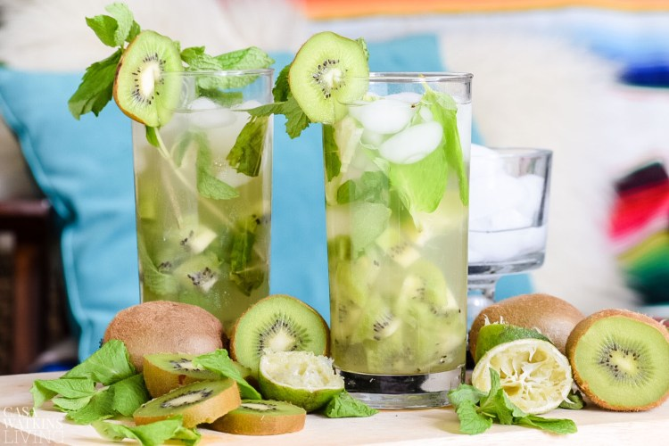how to make kiwi mojitos