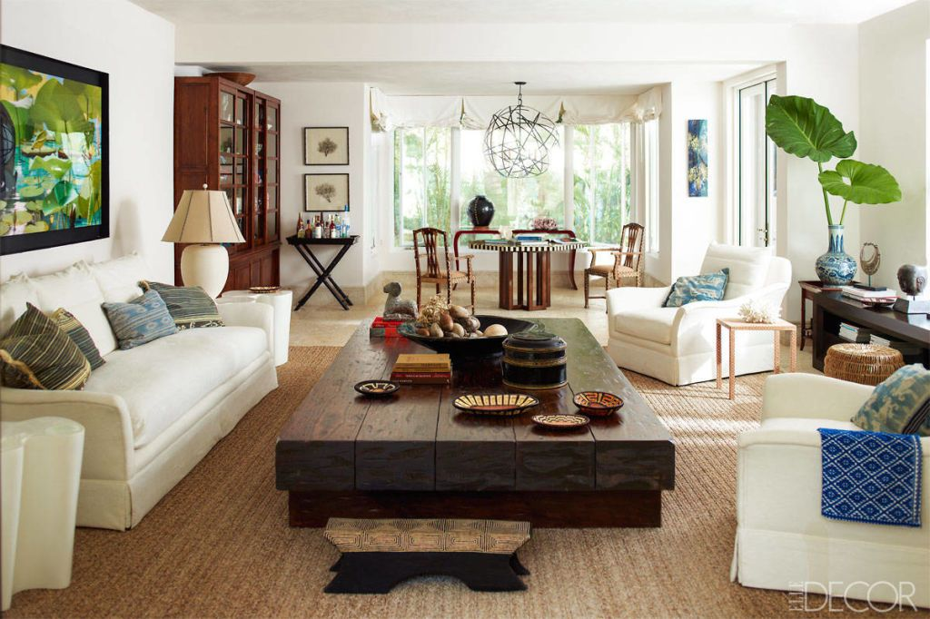 Caribbean Style Living Room From Home In Dominican Republic
