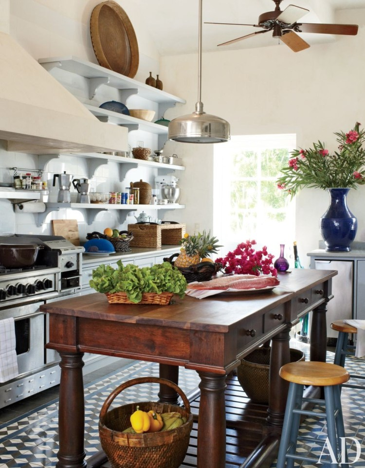 Caribbean style kitchen in Dominican Republic