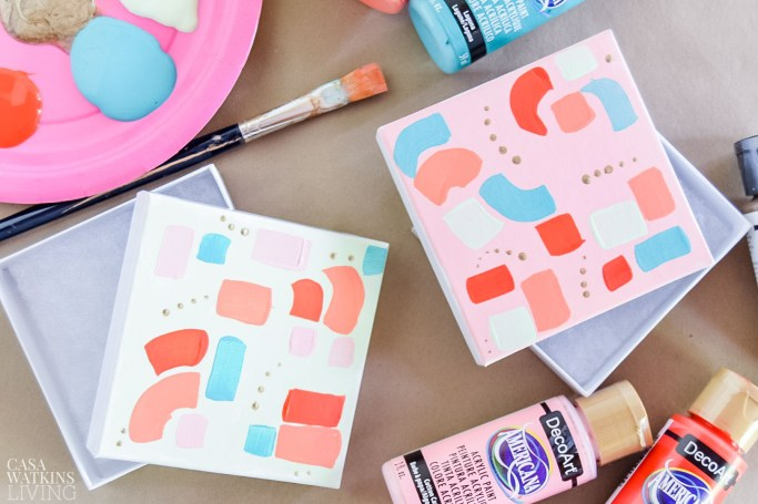 gift box makeover with paint!