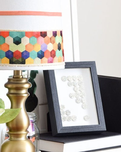DIY Boho Chic Lamp Makeover