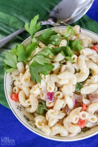 how to make pasta salad with olive oil