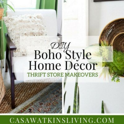 DIY Boho Style Home Decor | Video Tutorial